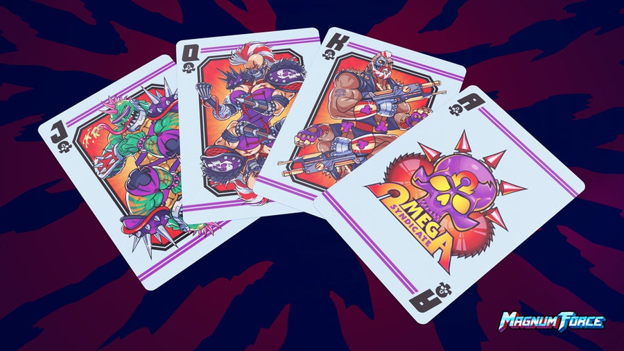 Magnum Force Playing Cards by Forge Arts