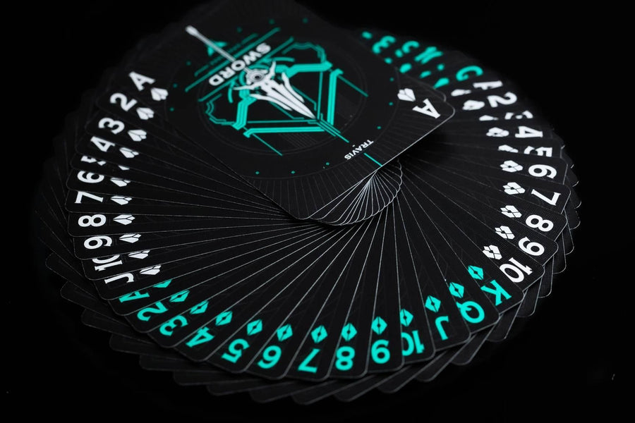 Classic Sword Playing Cards by The Card Mafia Playing Cards by RarePlayingCards.com