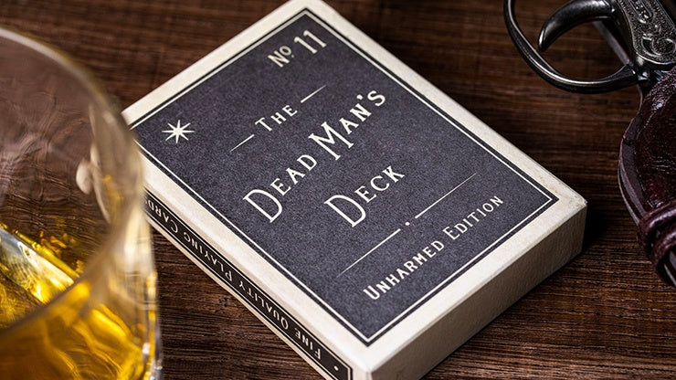 The Dead Man's Deck - Unharmed Edition Playing Cards by RarePlayingCards.com
