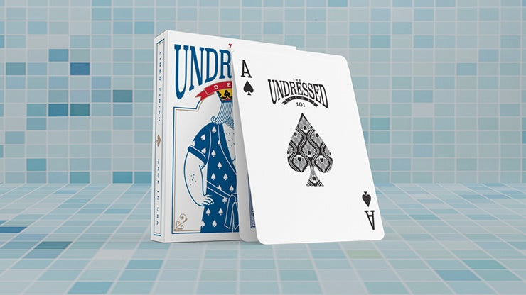 The Undressed Deck by Edi Rudo Playing Cards by RarePlayingCards.com