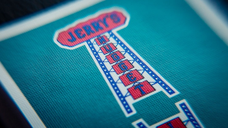 Vintage Feel Jerry's Nuggets (Aqua) Playing Cards Playing Cards by Expert Playing Card Co.