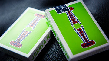 Vintage Feel Jerry's Nuggets (Green) Playing Cards Playing Cards by Expert Playing Card Co.