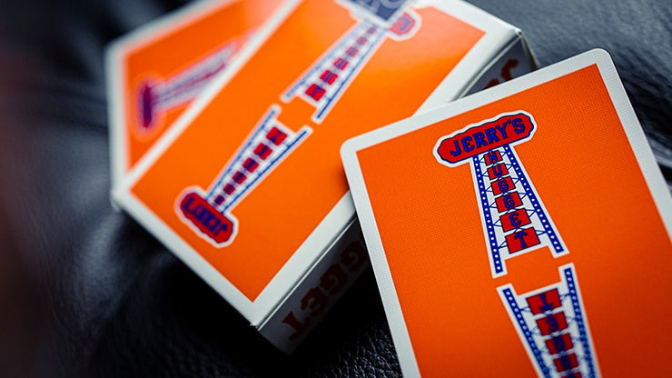 Vintage Feel Jerry's Nuggets (Orange) Playing Cards Playing Cards by Expert Playing Card Co.