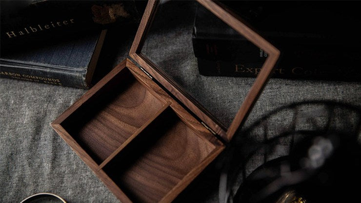 Wooden Collection Box (Two Decks) by TCC Playing Cards by RarePlayingCards.com