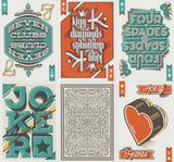 A Typographers Deck Playing Cards by Art of Play