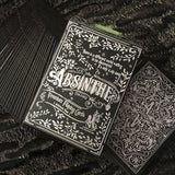 Absinthe V2 Playing Cards - RarePlayingCards.com - 10