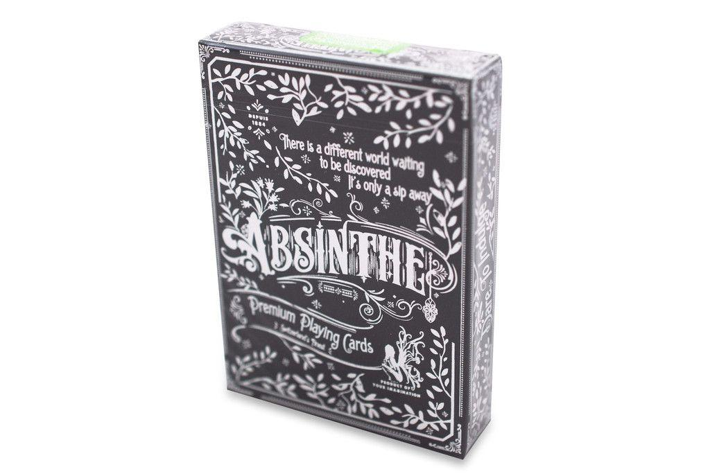Absinthe V2 Playing Cards - RarePlayingCards.com - 3