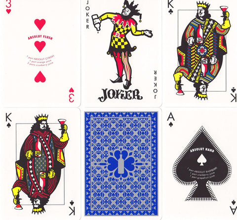 Absolut Playing Cards by Absolut Vodka