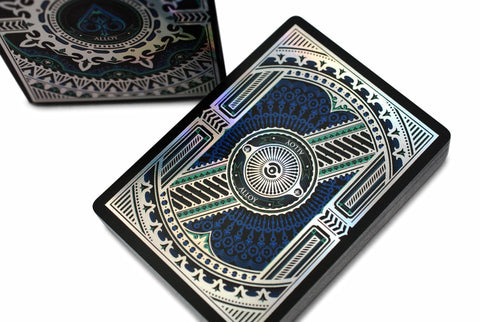 Alloy: Cobalt Playing Cards