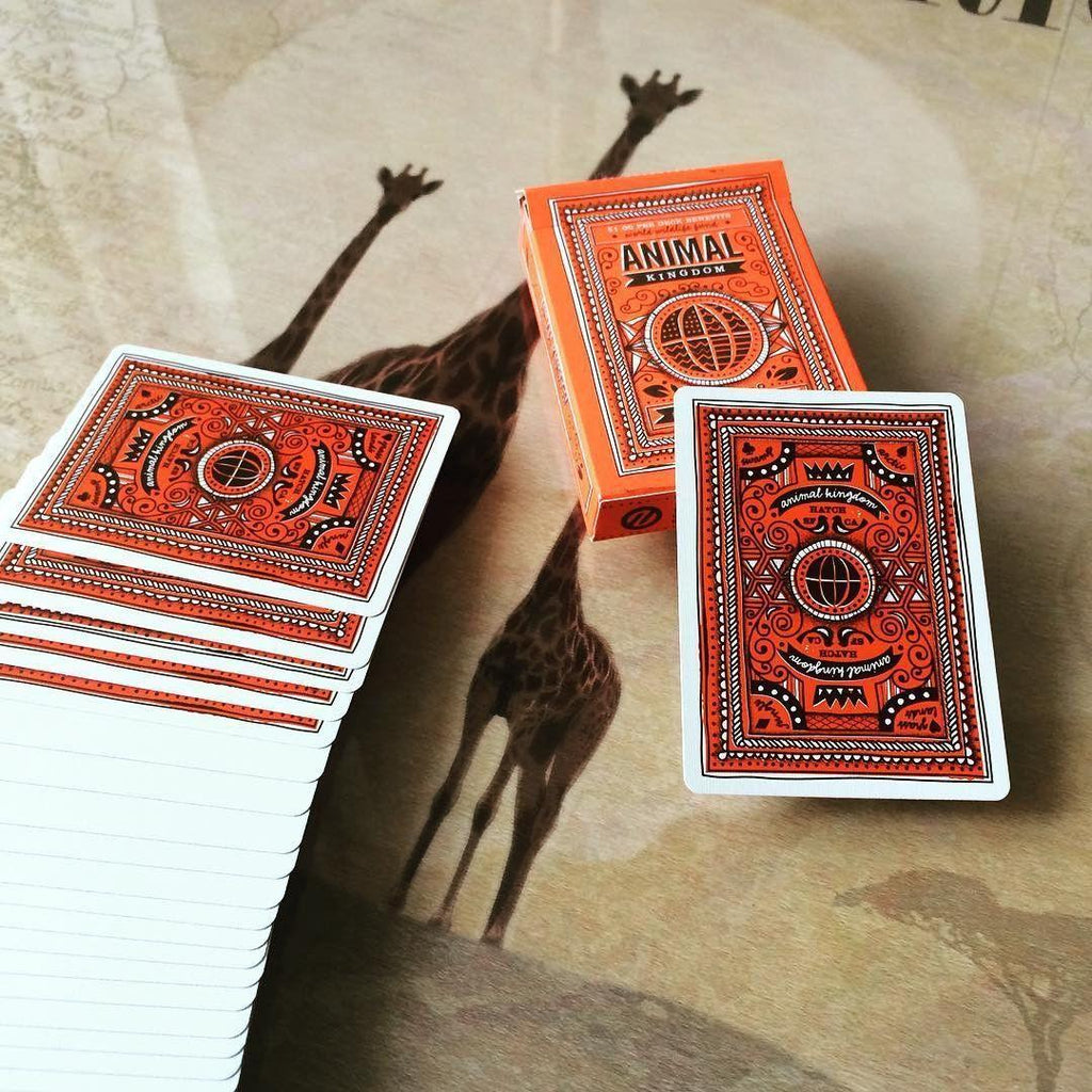 Animal Kingdom Playing Cards by Theory11