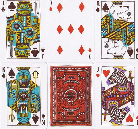 Animal Kingdom Playing Cards - RarePlayingCards.com - 1