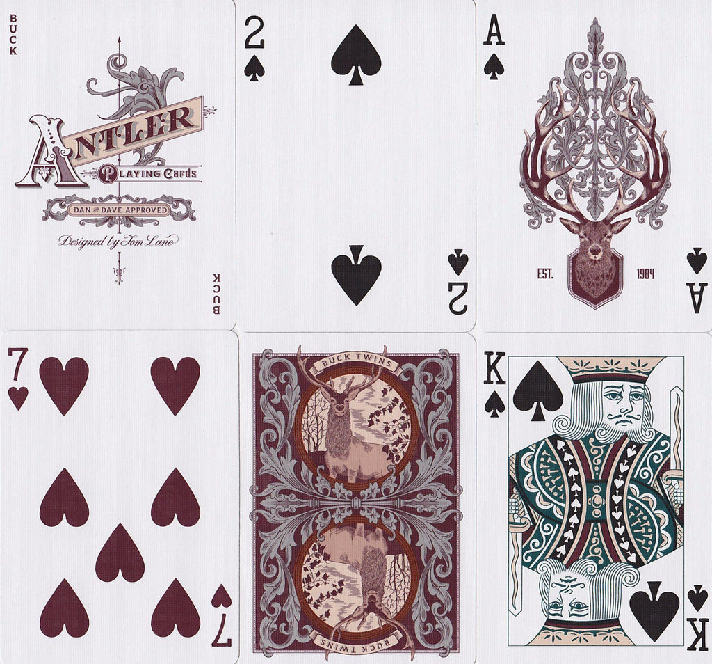 Antler Limited Edition Playing Cards - RarePlayingCards.com - 10
