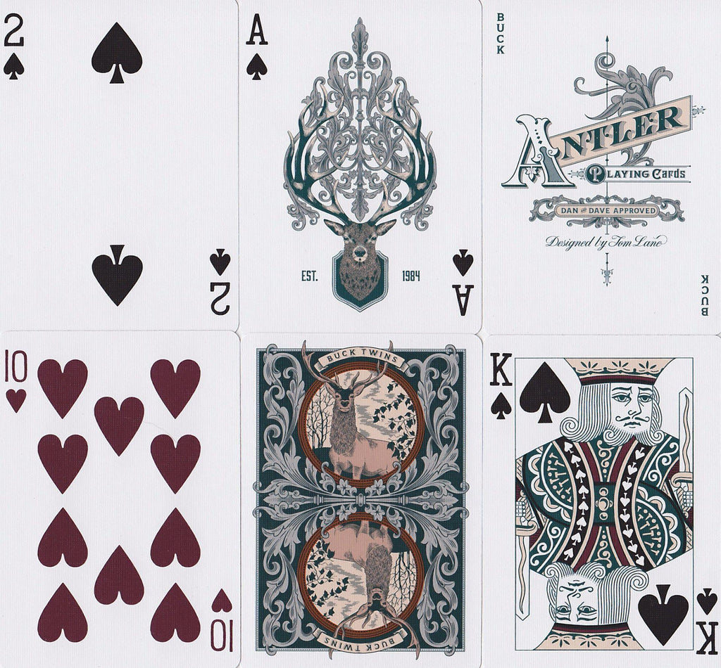 Antler Limited Edition Playing Cards - RarePlayingCards.com - 11