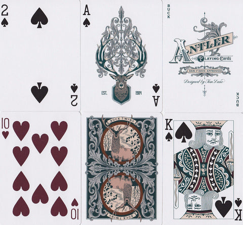 Antler Limited Edition Playing Cards by Dan & Dave
