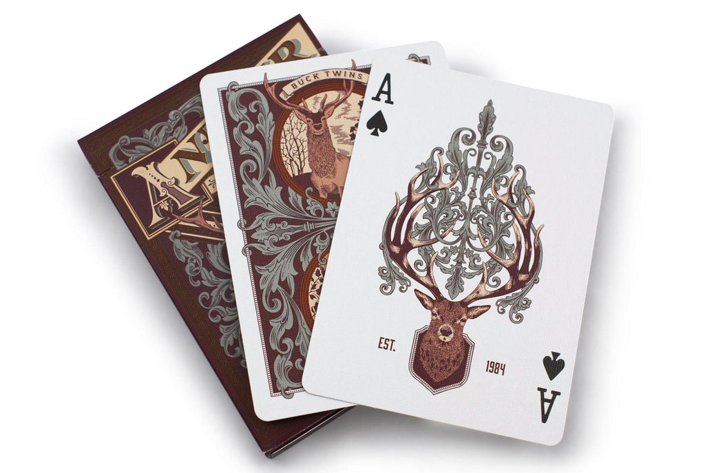 Antler Limited Edition Playing Cards - RarePlayingCards.com - 9