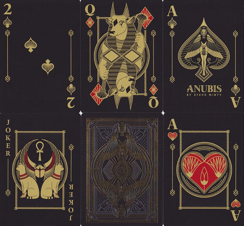 Anubis Playing Cards by Steve Minty