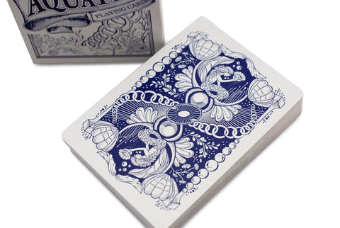 Aquatica Playing Cards - RarePlayingCards.com - 1