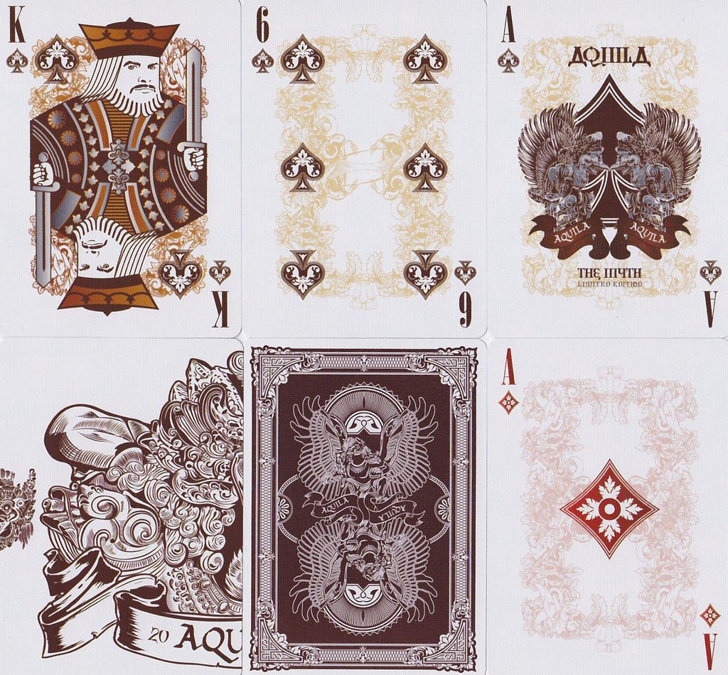 Aquila Playing Cards - RarePlayingCards.com - 10