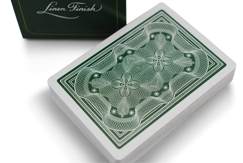 Aristocrat: Green Edition Playing Cards - RarePlayingCards.com - 1