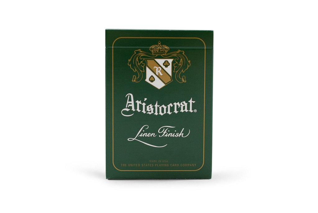 Aristocrat: Green Edition Playing Cards - RarePlayingCards.com - 2