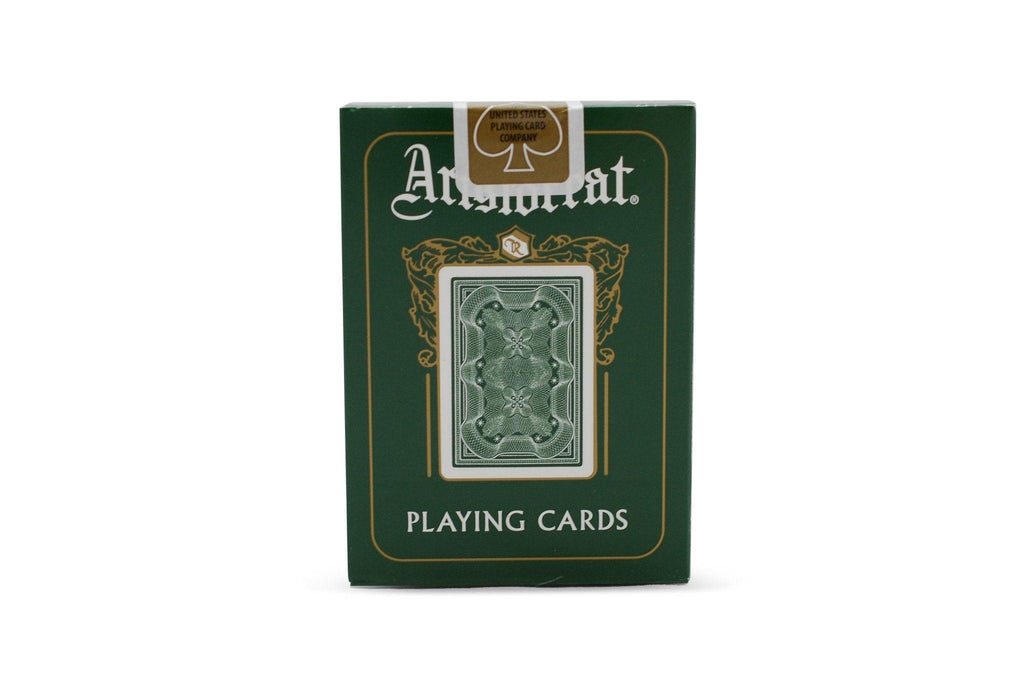 Aristocrat: Green Edition Playing Cards - RarePlayingCards.com - 3