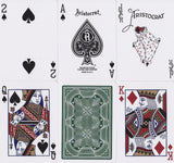 Aristocrat: Green Edition Playing Cards - RarePlayingCards.com - 9
