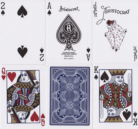 Aristocrats Playing Cards - RarePlayingCards.com - 1