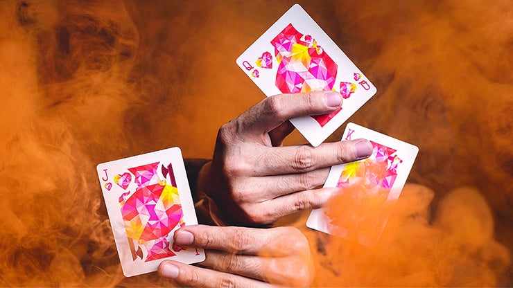 Art of Cardistry: Red Edition Playing Cards by Bocopo Playing Card Co.