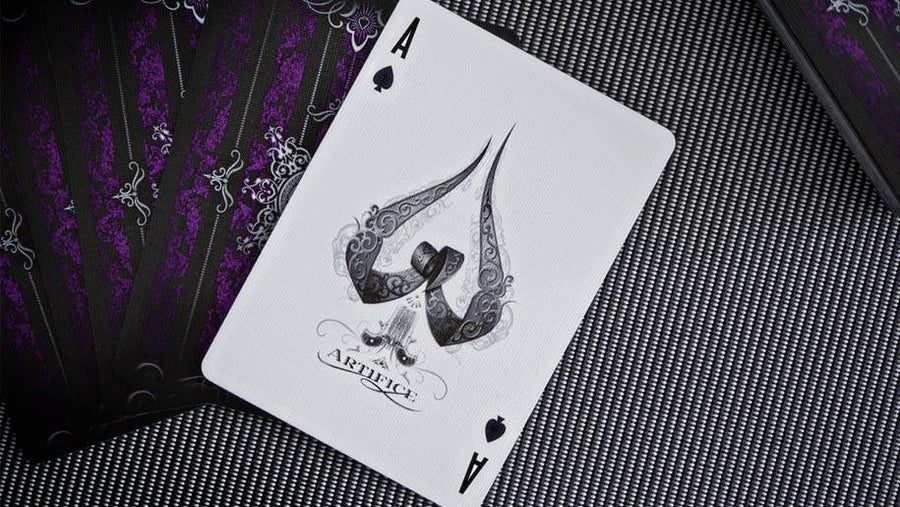 Artifice Purple Playing Cards by Ellusionist