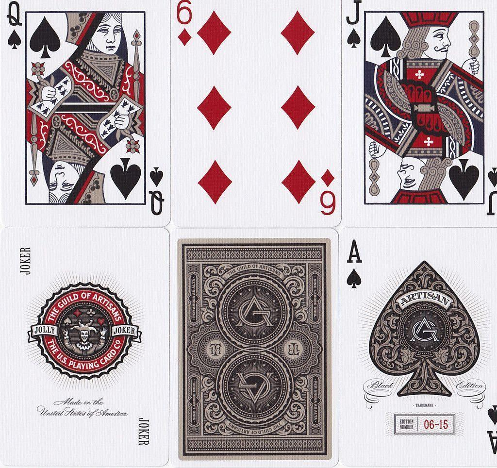 Artisans Playing Cards - RarePlayingCards.com - 7
