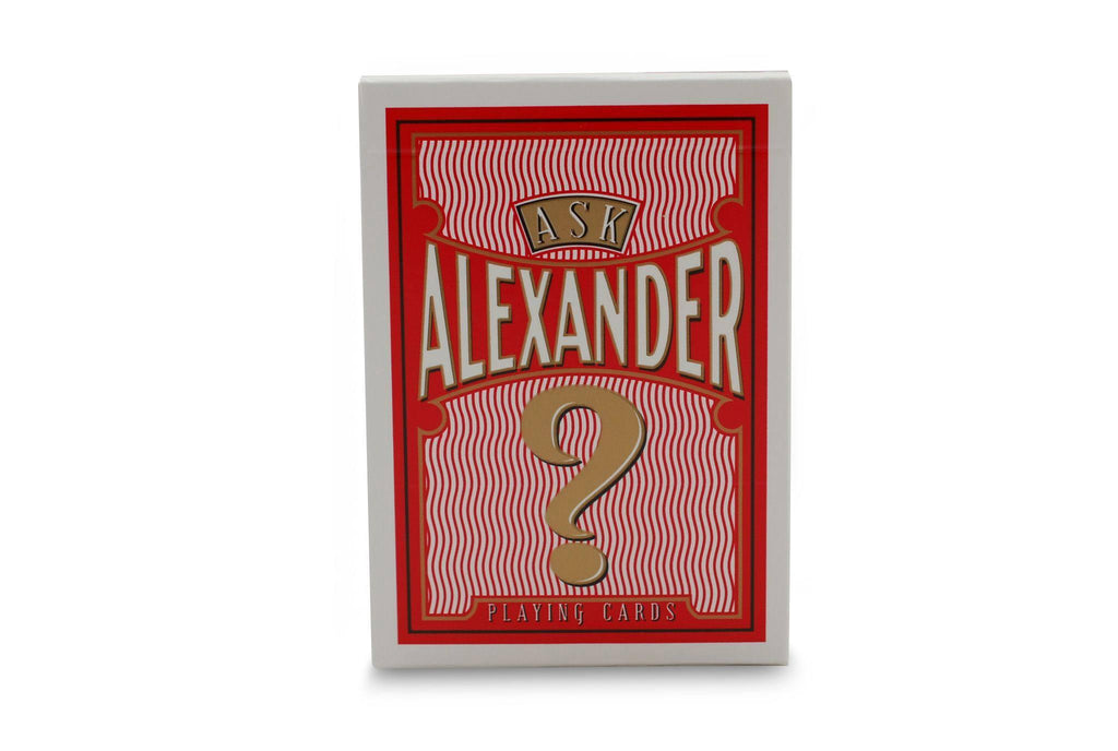 Ask Alexander Playing Cards - RarePlayingCards.com - 2