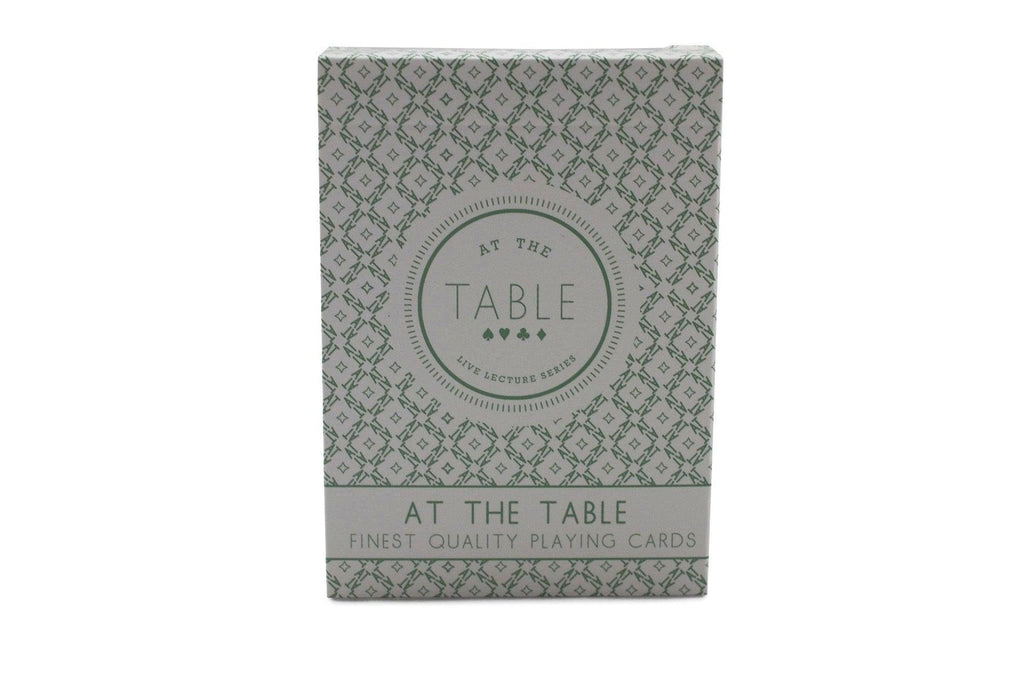 At the Table Playing Cards - RarePlayingCards.com - 2