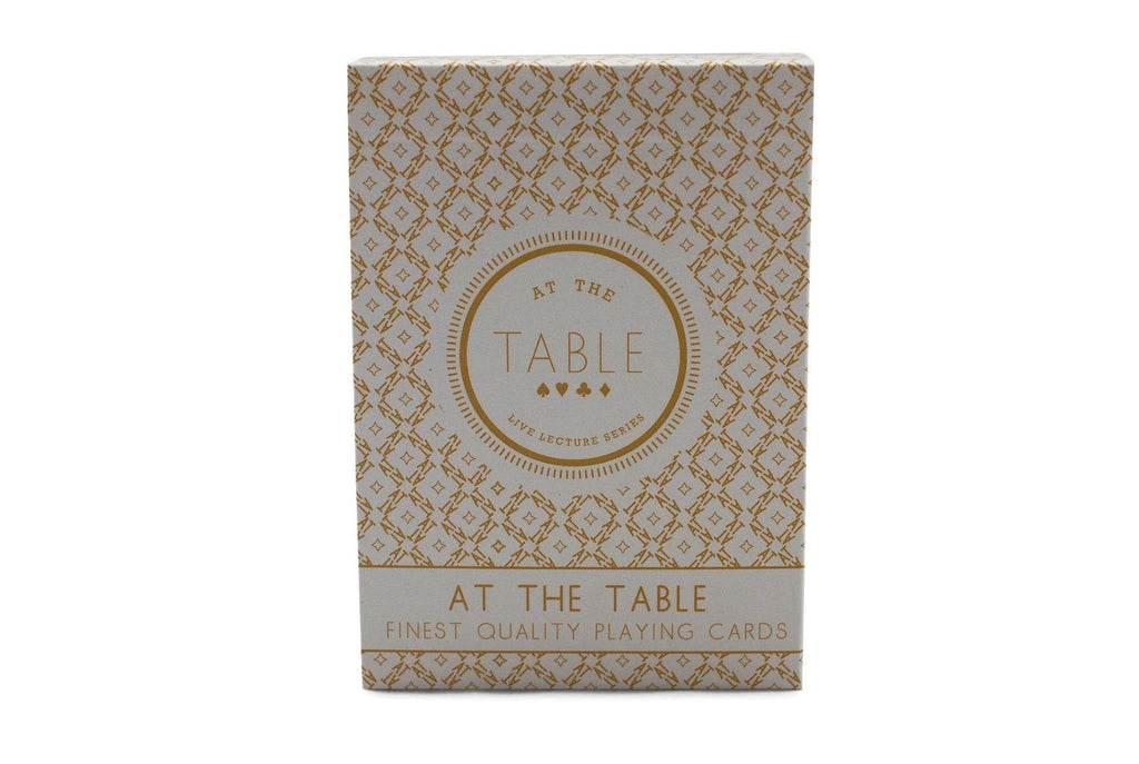 At the Table: Signature Edition Playing Cards - RarePlayingCards.com - 2