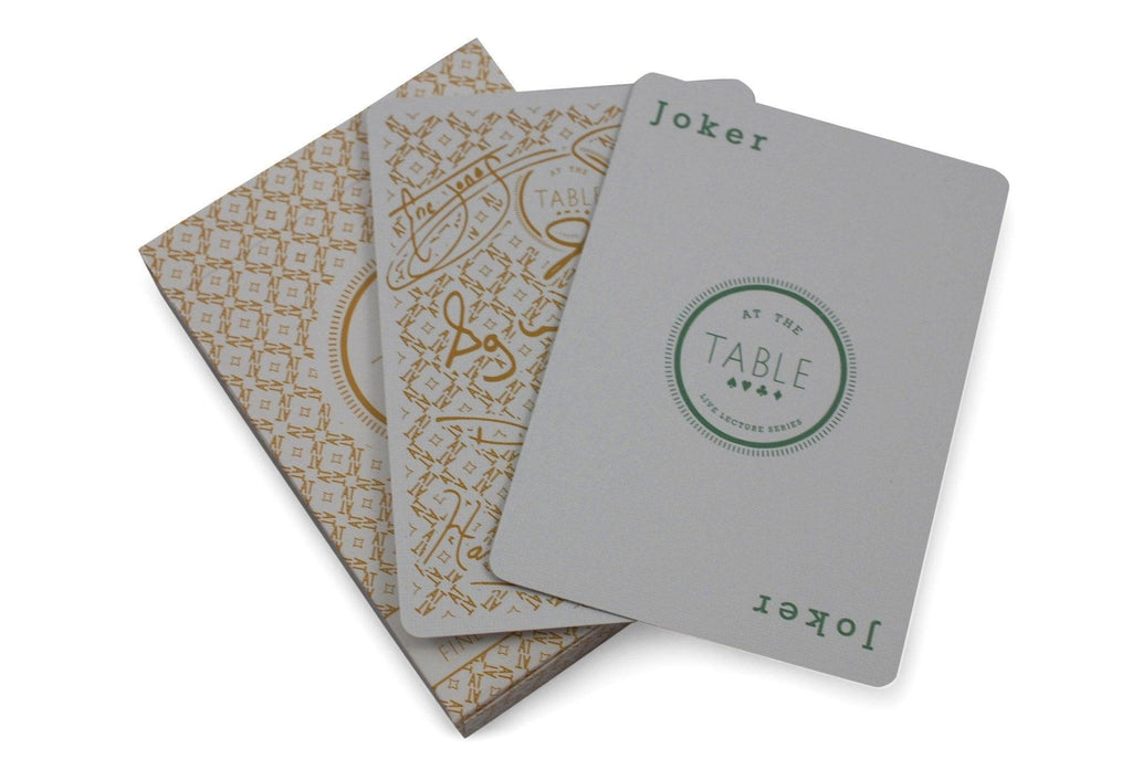 At the Table: Signature Edition Playing Cards - RarePlayingCards.com - 7