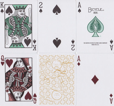 At the Table: Signature Edition Playing Cards - RarePlayingCards.com - 1