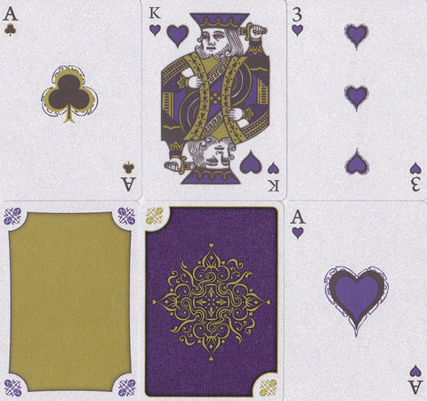 Aurum Sovereign Playing Cards by Encarded