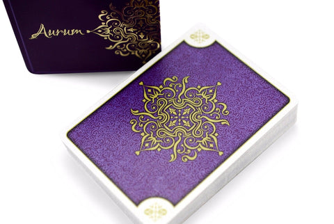 Aurum Sovereign Playing Cards - RarePlayingCards.com - 1