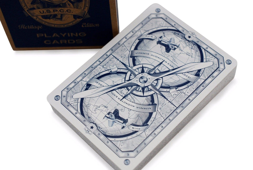AVIATOR® Heritage Ed. Playing Cards - RarePlayingCards.com - 1
