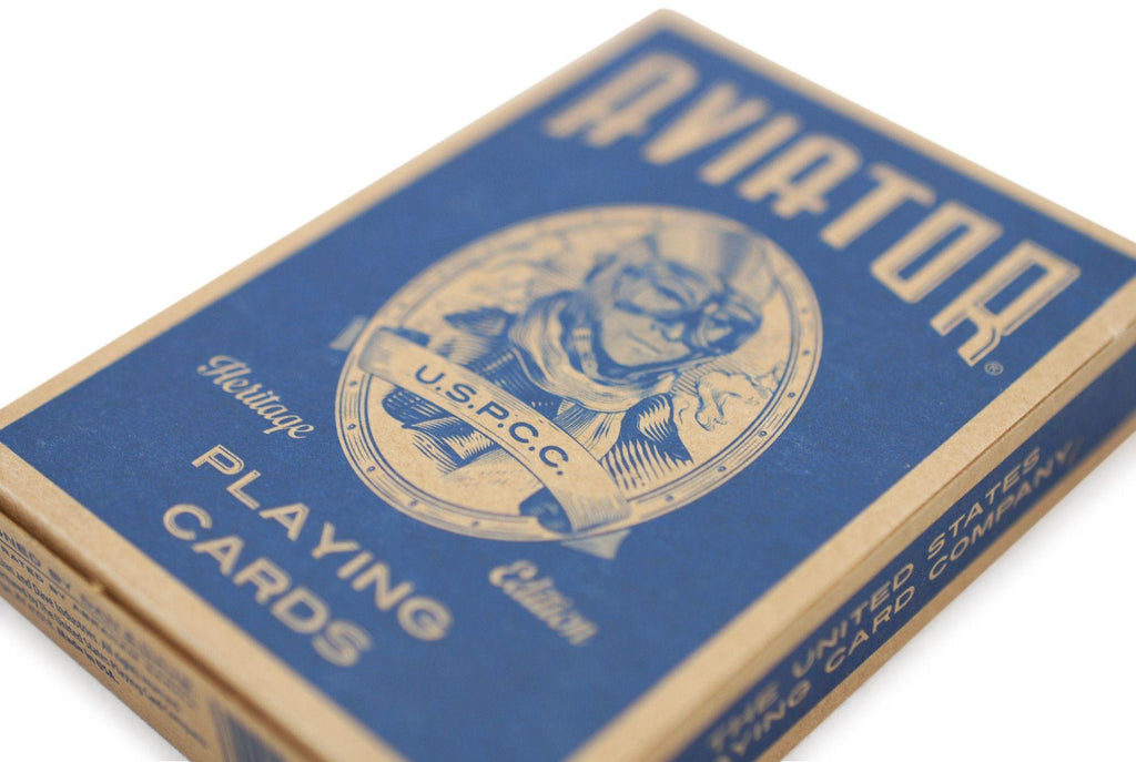 AVIATOR® Heritage Ed. Playing Cards - RarePlayingCards.com - 5