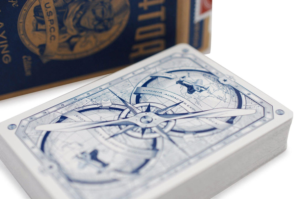 AVIATOR® Heritage Ed. Playing Cards - RarePlayingCards.com - 6