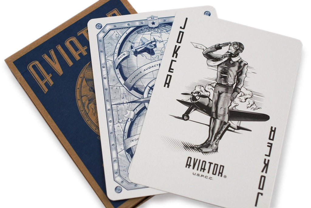 AVIATOR® Heritage Ed. Playing Cards - RarePlayingCards.com - 9