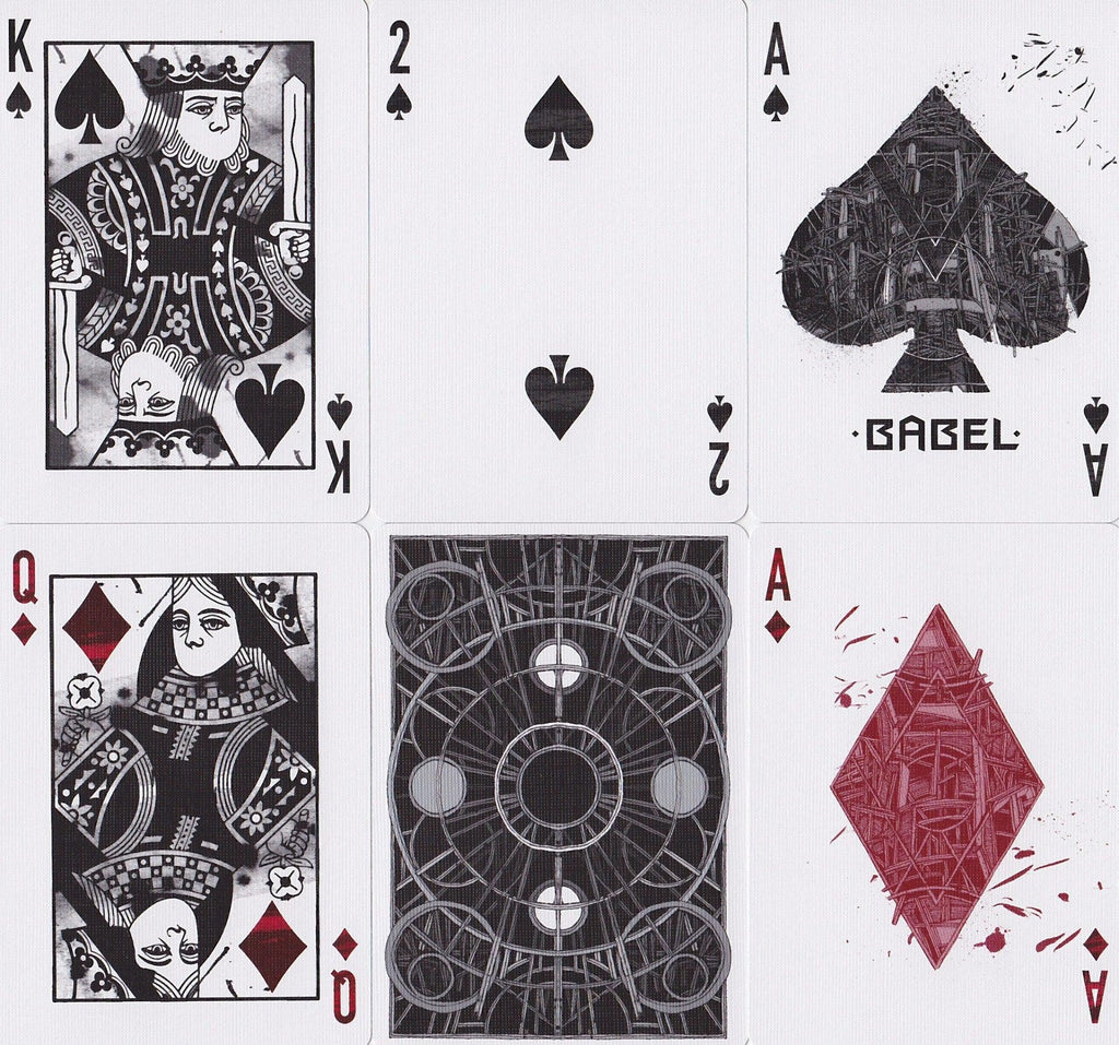 Babel Playing Cards