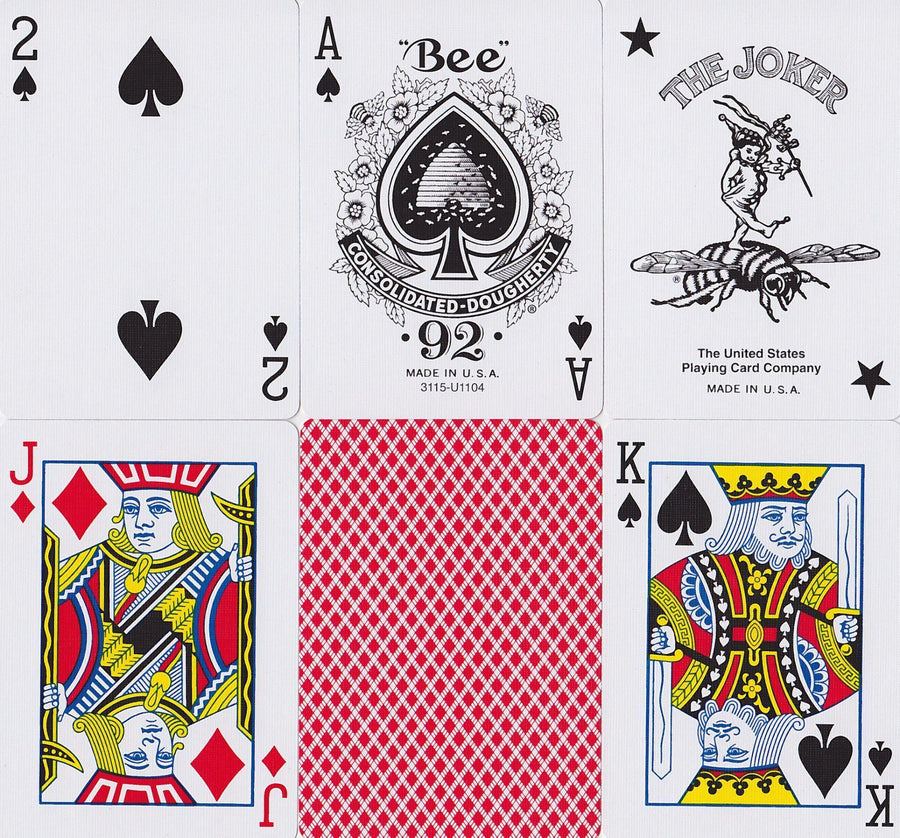 Bee Playing Cards by US Playing Card Co.