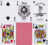 Bee Playing Cards - RarePlayingCards.com - 10