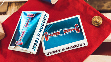 Vintage Feel Jerry's Nuggets Blue Foil Playing Cards