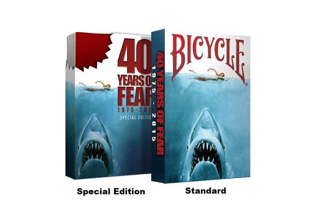 Bicycle® 40 Years of Fear Playing Cards - RarePlayingCards.com - 2