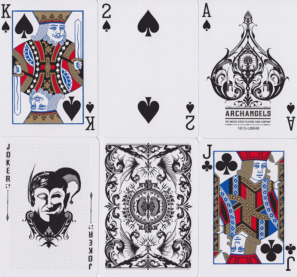 Bicycle® Archangels Playing Cards - RarePlayingCards.com - 10