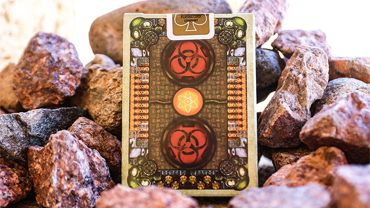 Bicycle Armageddon Post-Apocalypse Playing Cards by Will Roya