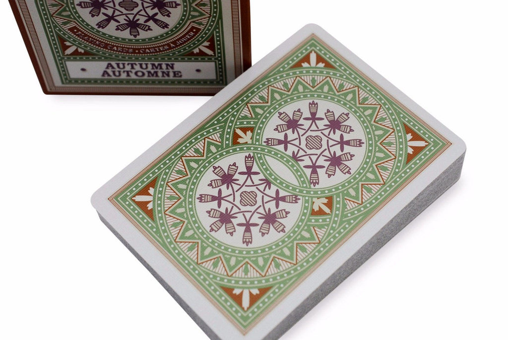 Bicycle® Autumn Playing Cards - RarePlayingCards.com - 1