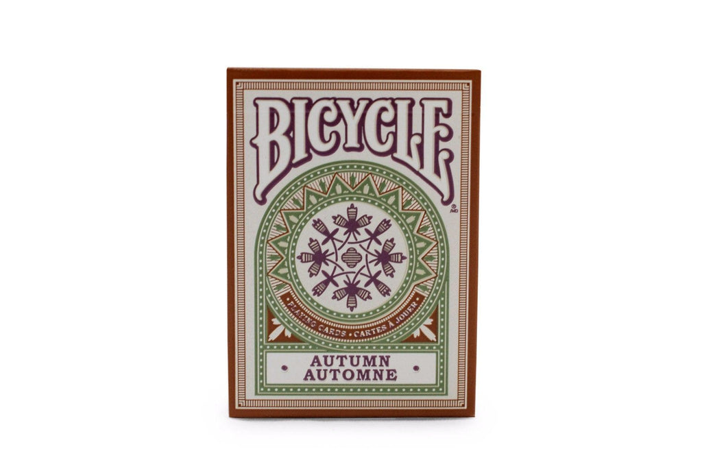 Bicycle® Autumn Playing Cards - RarePlayingCards.com - 2